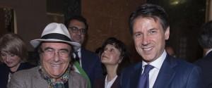 Al BAno con il presidente Conte