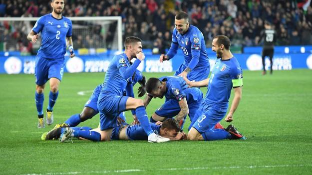 calcio, europei, nazionale, barella, Moise Kean, Sicilia, Sport