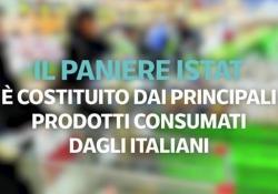 Il paniere Istat costituito dai principali prodotti consumati dagli italiani: cos'è e come funziona Nel paniere 2019 ci sono 1507 prodotti; il carrello della spesa invece include solo i prodotti alimentari - Corriere Tv