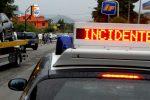 Incidente a Nicotera, scontro tra auto e moto: un ferito