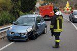 Incidente in tangenziale a Catanzaro, auto contro il guard rail: un ferito
