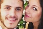 Ivana e Mauro Icardi in una foto di qualche anno fa