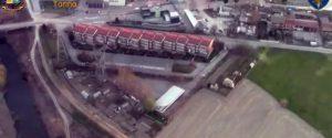 Un fermo immagine tratto da un video della finanza mostra un momento dell'operazione Carminius