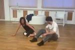 Nunzia De Girolamo fa le prove per «Ballando con le stelle»