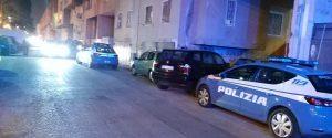 La polizia sul luogo del delitto a Palermo