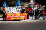 Blutec, dopo gli arresti sit-in degli operai davanti alla Regione a Palermo - Foto