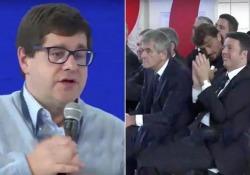 Quando il preside Salvatore Giuliano elogiò in pubblico Renzi e la riforma della Buona scuola Salvatore Giuliano è candidato a ministro dell'Istruzione - Corriere TV