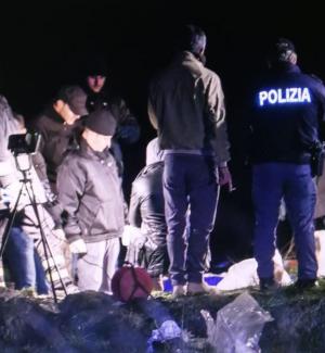 Il ritrovamento del cadavere di Luca Bruni