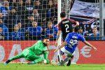 Defrel sfrutta un errore di Donnarumma e la Sampdoria batte il Milan