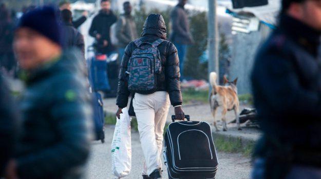 baraccopoli san ferdinando, sgombero migranti, Matteo Salvini, Reggio, Calabria, Cronaca