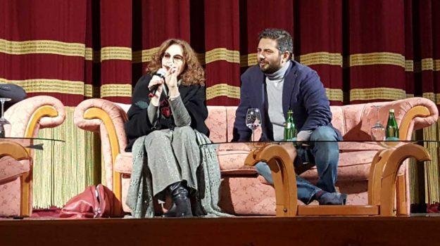 conversazione evento, politeama di catanzaro, Stefania Sandrelli, Catanzaro, Calabria, Cultura