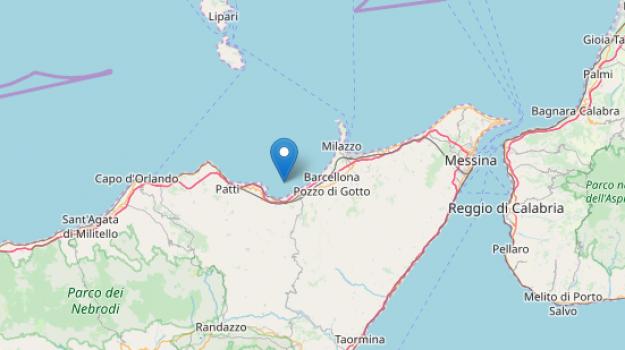 messina, provincia di messina, terremoti, Messina, Sicilia, Cronaca