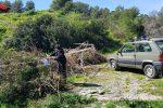Rifiuti abbandonati da dipendenti comunali di Montegiordano, denunciati operai e dirigente