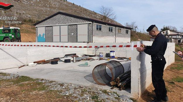 abusivismo edilizio, sequestro morano, Cosenza, Calabria, Cronaca
