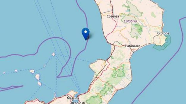 ingv, terremoto lamezia, Catanzaro, Calabria, Cronaca