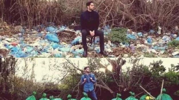mondo, rifiuti, trash tag, Sicilia, Società