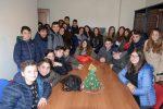 La scuola media di Limbadi in visita alla redazione di Vibo della Gazzetta del Sud