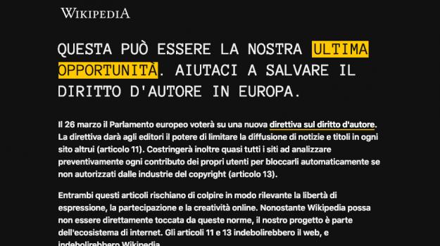 copyright, diritto d'autore, wikipedia, Sicilia, Cronaca
