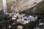 Brucia ancora il Regina Margherita di Messina, divampa un nuovo incendio nell'ex ospedale - Foto