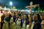 La processione dello scorso anno delle Barette di Messina