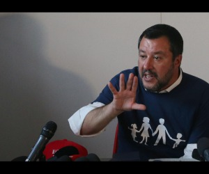Salvini dismisses govt-crisis talk as 'crap'