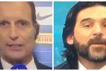 """Accesa lite in tv fra Allegri e Adani dopo Inter-Juve: """"Stai zitto lo dici a tuo fratello"""""""