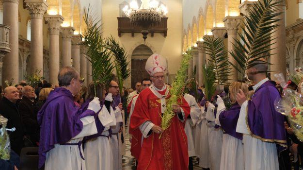 benedizione palme, messina, Alessandro Lo Nardo, Giuseppe La Speme, Stefania La Manna, Messina, Sicilia, Cronaca