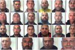 Blitz contro il clan dei 'Tuppi' nel Catanese, coinvolto anche un carabiniere: nomi e foto degli arrestati