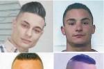 """Barcellona, estorsione al """"Perditempo"""": giudizio immediato per i 4 arrestati - Nomi e foto"""