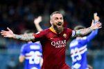 De Rossi trascina la Roma, battuta la Sampdoria al Ferraris
