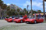 Da Vibo Valentia a Tropea, Ferrari d'epoca sfilano per il raduno nazionale: le foto