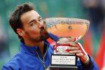 Tennis, Fognini 12esimo nel ranking Atp dopo il trionfo a Monte Carlo