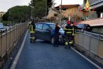 Perde il controllo dell'auto che va in testacoda, incidente a Catanzaro: illesa una donna