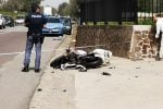 Incidente tra auto e moto a Jonadi, ferito un 37enne di Rombiolo - Foto
