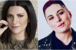 """Amici, Laura Pausini spiazza Giordana della squadra bianca: """"Scrivi canzoni per me"""""""