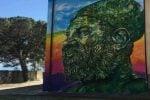 A Riace il murales dell'artista Atoche: un omaggio al sindaco Lucano