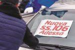 Catanzaro, nuova Statale 106: la protesta arriva alla Cittadella