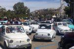 Reggio, la sfilata delle Fiat 500 da piazza Indipendenza a piazza Castello - Foto