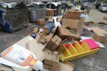 Rifiuti a Messina, mezzi per la raccolta guasti: tornano i cumuli in strada - Le foto