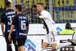 Ronaldo risponde a Nainggolan: tra Inter e Juventus finisce 1-1
