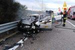 Violento scontro tra due auto a Stalettì: tre feriti e traffico rallentato