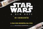 Star Wars sbarca in teatro, orchestra sul palco suona dal vivo la colonna sonora