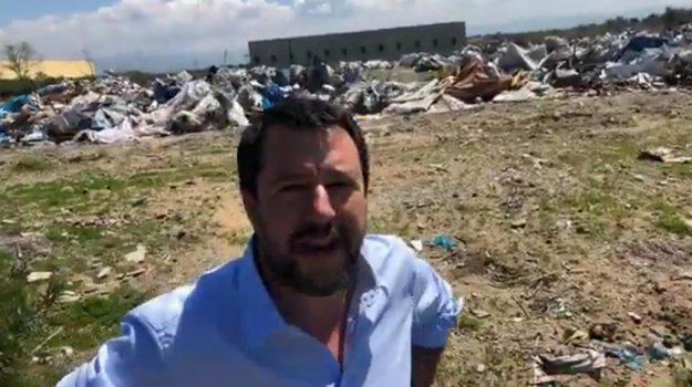 migranti, tendopoli san ferdinando, Matteo Salvini, Reggio, Calabria, Politica