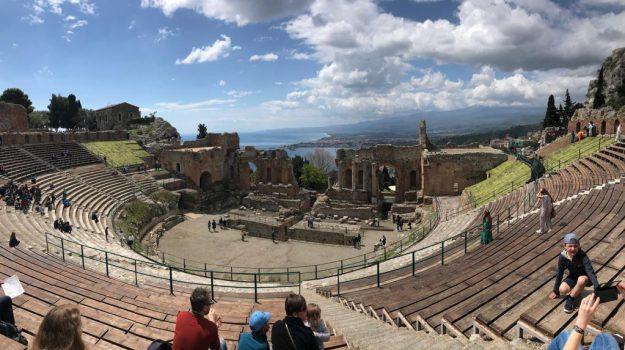 giardini naxos, parco archeologico, taormina, Vera Greco, Messina, Sicilia, Economia