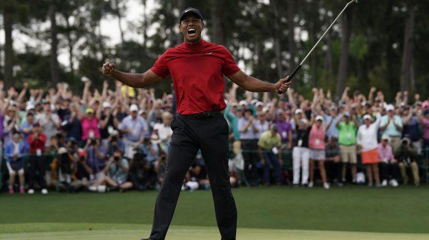 Augusta Masters, golf, Francesco Molinari, Tiger Woods, Sicilia, Sport