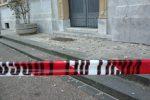 Messina, Palazzo Zanca perde ancora pezzi: nuovo crollo di intonaci dalla facciata del Comune - Foto