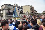 Ingerenze sull'Affruntata di Sant'Onofrio, forze dell'ordine in piazza