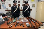 Armi da fuoco clandestina, due arresti a Isola di Capo Rizzuto