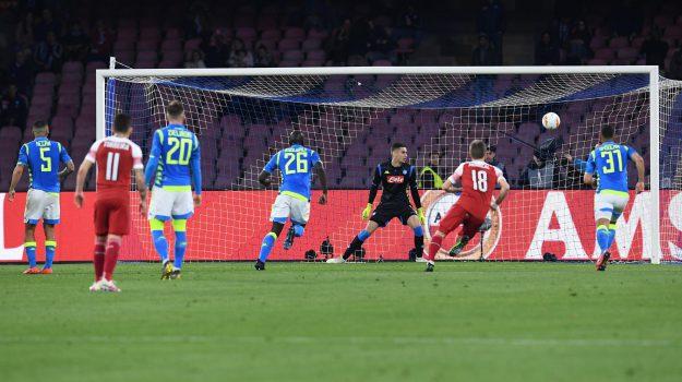 europa league, Napoli-Arsenal, Sicilia, Sport
