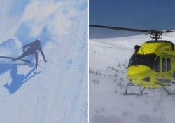 Chilometro lanciato: il «re della velocità» cade a 170 km/h Sci velocità: il belga Joost Vandendries ha riportato nove fratture - CorriereTV